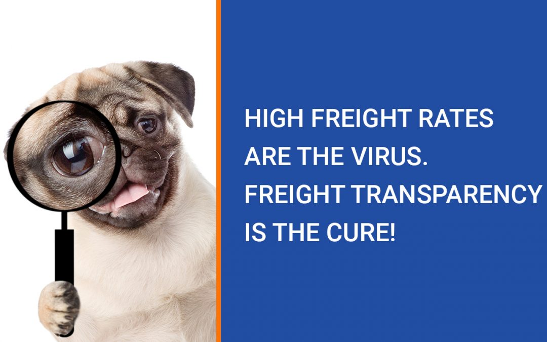 High Freight Rates Are The Virus. Freight Transparency Is The Cure!
